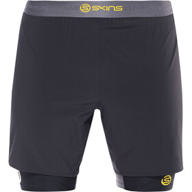 Skins DNAmic Superpose Half Tights Men black/citron